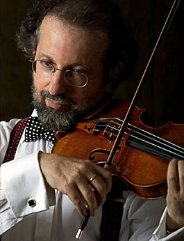 Vladimir Tsypin Posing With Violin